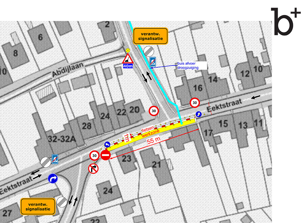 Gewijzigde verkeerssituatie Eektstraat en omliggende straten