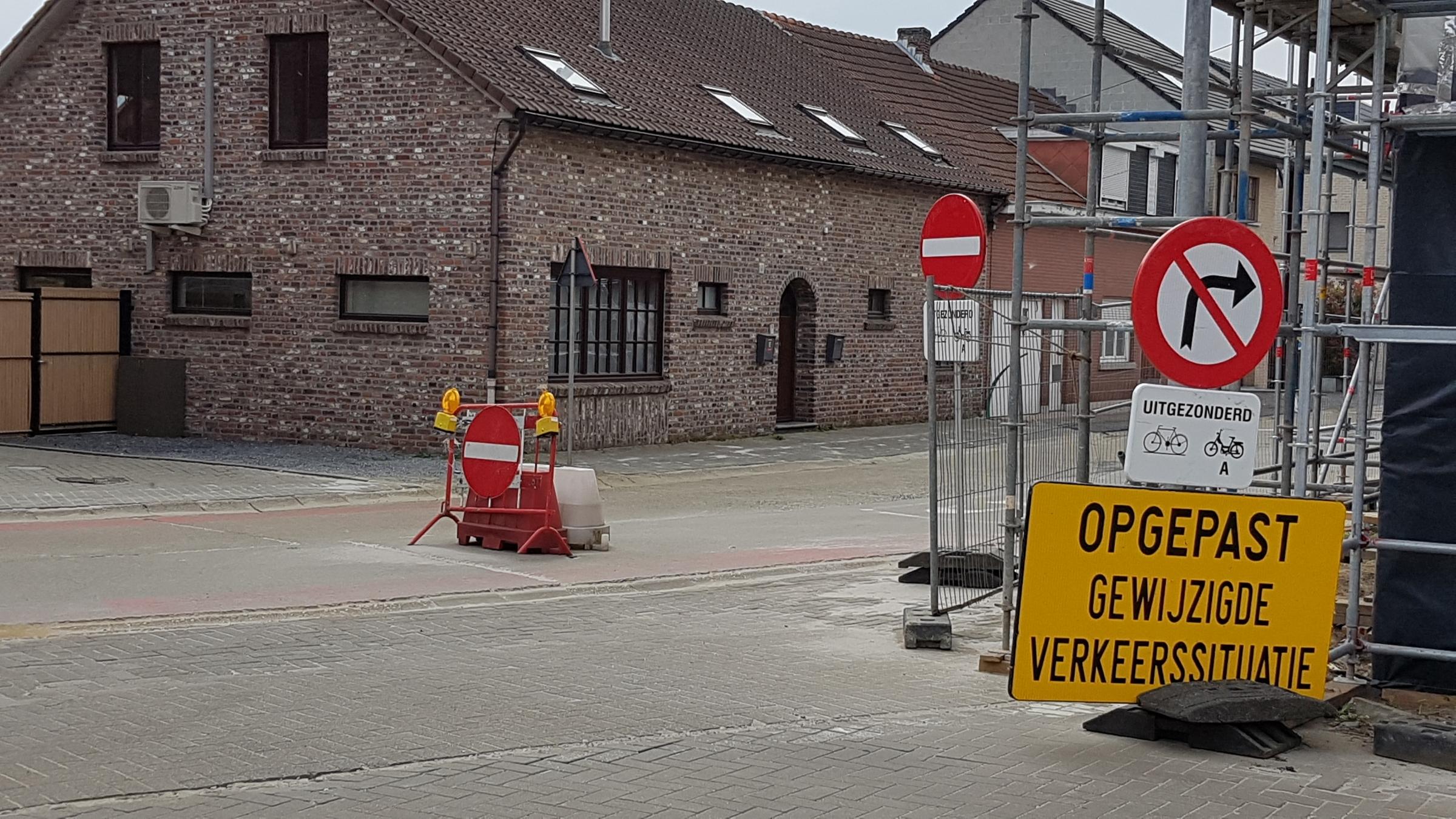 Gewijzigde verkeerssituatie Eektstraat: nieuwe signalisatie