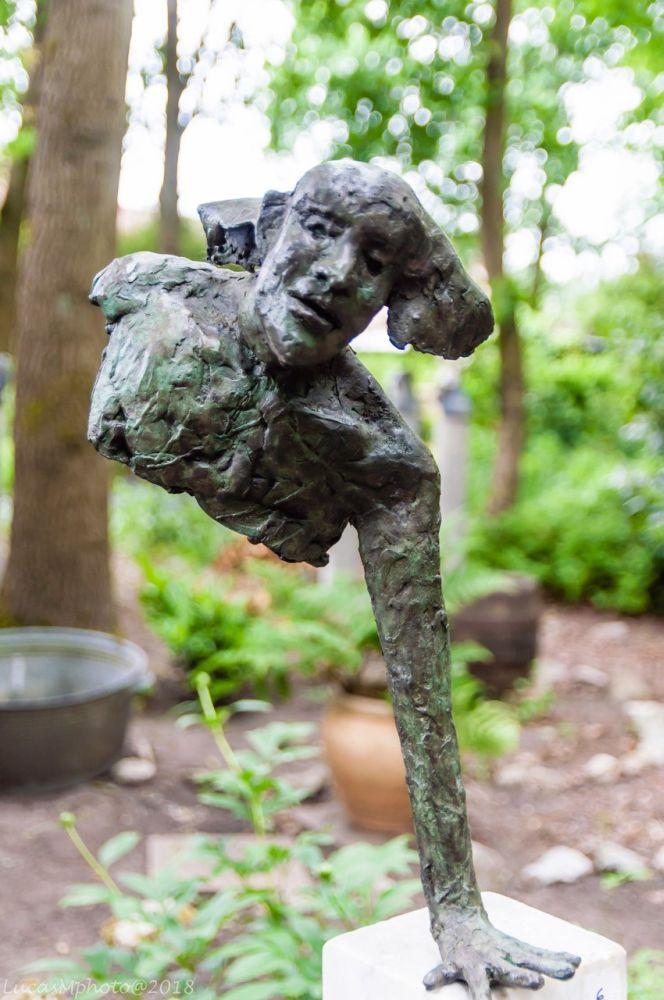 Bronzen kunstwerk Jan Rosseels