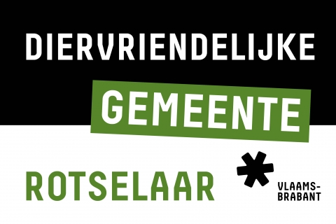 Label diervriendelijke gemeente Rotselaar
