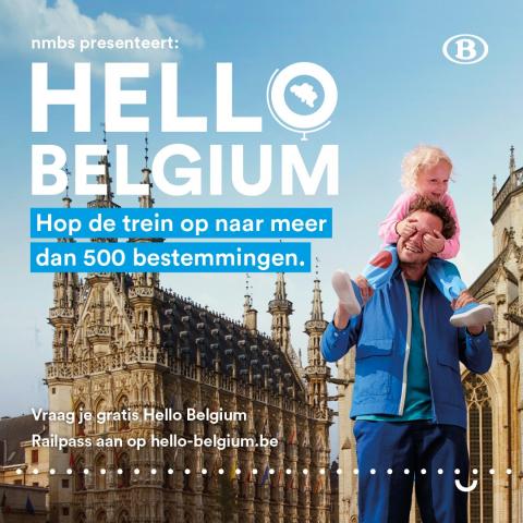 Hello Belgium Railpass