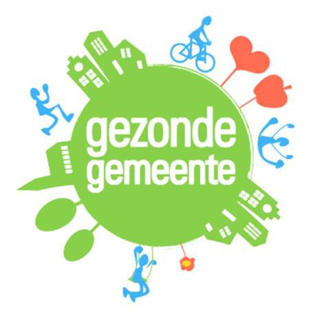 Gezonde gemeente logo