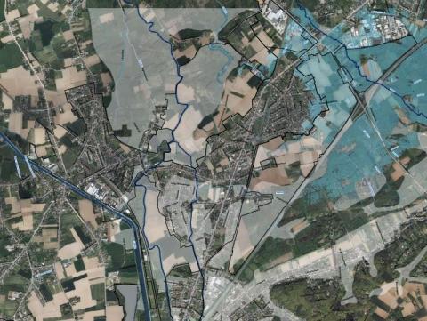 RUP Regionaalstedelijk gebied Leuven kaartsnippet