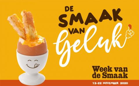 Week van de Smaak 2020 campagnebeeld De Smaak van Geluk